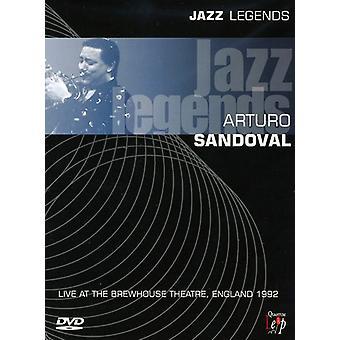 Arturo Sandoval - Jazz Legend-Live Brewhouse Theatre 1992 [DVD] USA import