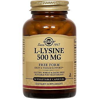 L-lysin 500 Mg VCaps 50 Count