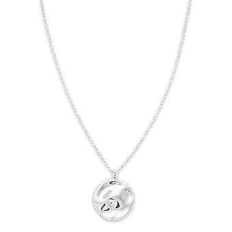 Rosefield JTXCS-J080 necklace and pendant - IGGY Collier Collection with M daillon Relief Laiton Femme