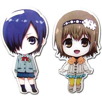 Pin Set - Tokyo Ghoul - New SD Touka & Hinami (Set of 2) Anime ge50591