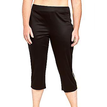 Pantalon de salon noir Curve Jet Black