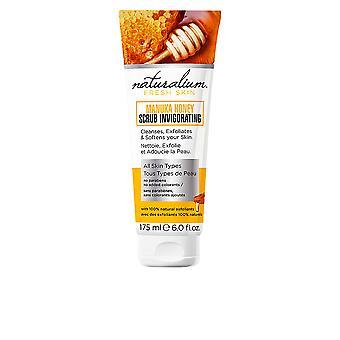 Naturalium Manuka Honey scrub uppfriskande 175 ml unisex