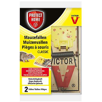 SBM Protect Home Mouse Traps Classic, 2 pieces