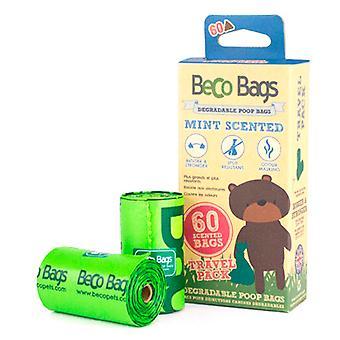 Beco Bolsas Minttu 8 rollos x 15 bolsas