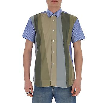 Comme Des Garçons Shirt S280611 Men's Multicolor Cotton Shirt