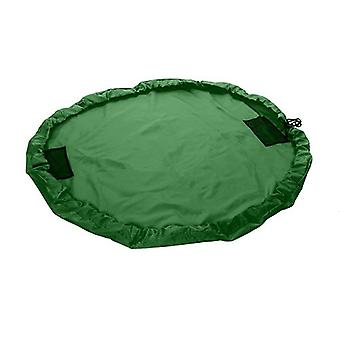 Green Kids Waterproof Portable Toy Tidy Storage Bag Play Drawstring Bag Play