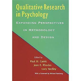 البحث النوعي في علم النفس-توسيع الآفاق في ميثودو