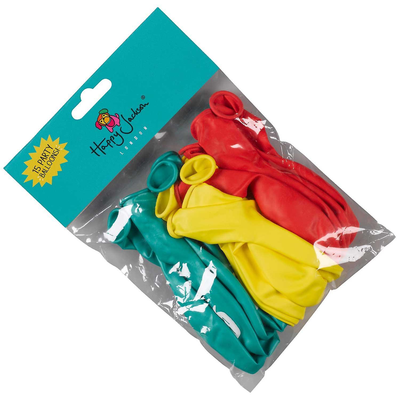 Glücklich Jackson Party Luftballons - Pack 15