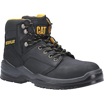 Caterpillar Mens Striver Lace Up Injected Safety Boot Black