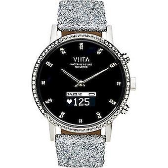 Viita Smartwatch - Hybrid HRV Crystal silver (Swarovski) - FC61SS001
