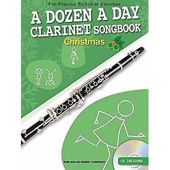 Dozen a Day Clarinet Songbook - Christmas - 9781783056477 Book