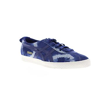 Onitsuka Tiger Mexico Delegation  Mens Blue Low Top Sneakers Shoes