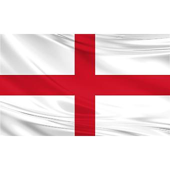 Deluxe England Large Flag 5ft x 3ft St George