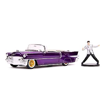 Elvis 1956 Cadillac El Dorado 1:24 w/ Figure Hollywood Ride