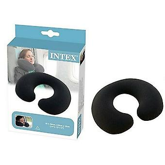 Inflatable Travel Neck Pillow Intex (36 x 30 x 10 cm)
