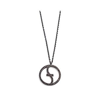 ZOPPINI Feelings Black Crystal Necklace