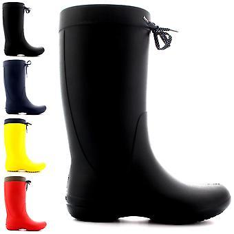 Womens Crocs Freesail pioggia invernale impermeabile pioggia neve stivali