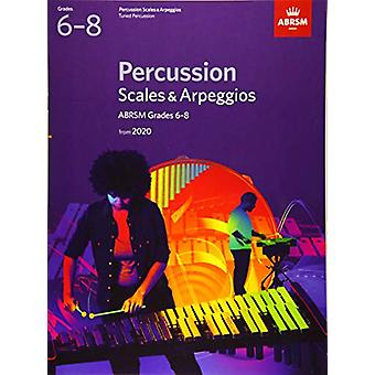 Percussion Scales & Arpeggios - ABRSM Grades 6-8 - from 2020 by AB