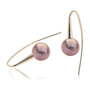 Luna-Pärlor Pärlörhängen 585 RG Sötvatten Avel Pearl Ming 10,5-11mm