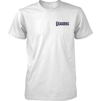 RN Kajak Logo 1 - königliche Marine Sport T-Shirt Farbe