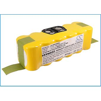 Battery for iRobot Vacuum 11702 Roomba 500 510 530 600 700 800 Scooba 450 2800mA