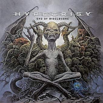 Hypocrisy - End of Disclosure [CD] USA import
