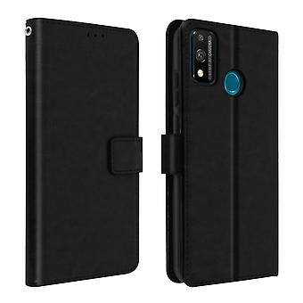 Cover for Honor 9X Lite Folio Cardholder Function Vintage Black