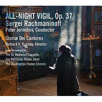 Rachmaninoff / Patriarch Tikhon Choir / Jermihov - Rachmaninoff: All-Night Vigil Op 37 [SACD] USA import
