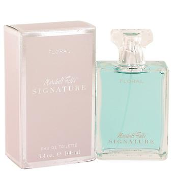 Marshall Fields Signature Floral by Marshall Fields Eau De Toilette Spray (Scratched box) 3.4 oz / 100 ml (Women)