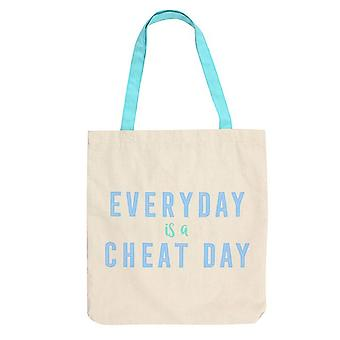 Something Different Everyday Is A Cheat Day Canvas Bag
