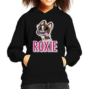 Littlest Pet Shop Roxie Cut Out Lettering Kid's Hooded Sweatshirt