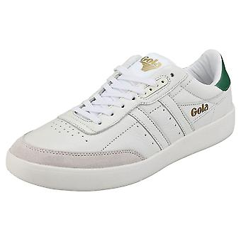 Gola Inca Mens Casual Trainers in White Green