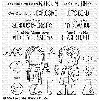 Moje ulubione rzeczy Słodkie Chemicy Jasne znaczki