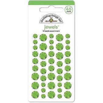 Doodlebug Design Limeade Juveler (45pcs) (3507)