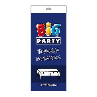 Blauer Kunststoff Tischdecke - 137 x 274cm Party-Dekoration