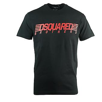 Dsquared2 Brothers Cool Fit Black T-Shirt
