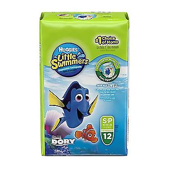 Huggies Little Swimmers Unisex Swim Pants Small 7 to 12 Kg 12 Pack