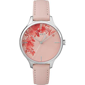 TW2R66600, City Peyton Elevated Classic Straps And Bracelets Ladies Watch / Pink