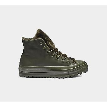 Converse Ctas Lift Ripple Hi 562425C Utilitaire Green Chaussures Femmes Boots