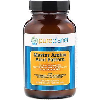 Pure Planet, Master Amino Acid Pattern, 1000 mg, 100 Tablets