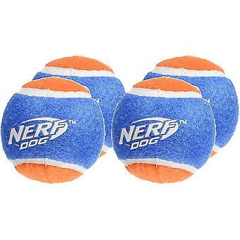 Nerf Dog Blaster Distance Balls Refill Pack (4 Pack)