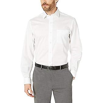 Abotoado Men's Classic Fit Tech Stretch CoolMax Easy Care Dress Shirt, W...