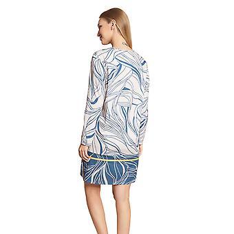 Féraud High Class 3201178-16585 Women's Modern Leaves Cotton Nightdress