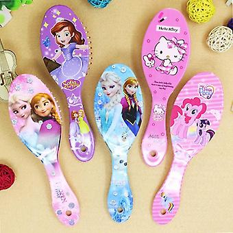 Disney Frozen Comb- Sofia Princess Minnie Little Pony Cute Massage, Mickey