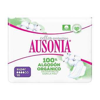 Ausonia Organic Super - Asas 10 unidades
