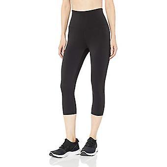 Essentials Women's Performance High-Rise Capri Active Legging, Black, ...