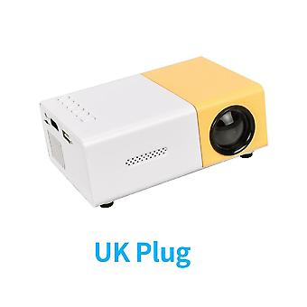 Yg-300 Pro Mini Projector 320x240 Pixels Support 1080p Hdmi Usb For Audio Video Beamer