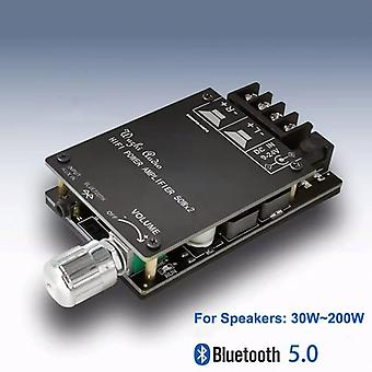Bluetooth 5.0 Digital 50w+50w Tpa3116 Audio Power Amp For Speakers 30w~200w Hifi Stereo Tpa3116d2 Aux Amplifier Board