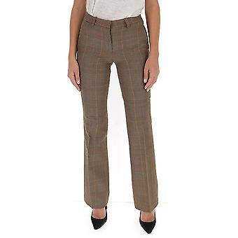 L'autre Koos B1560296020f870 Women's Brown Wool Pants