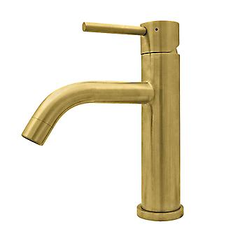 Waterhaus Lead-Free Solid Stainless Steel Single Lever Elevated Lavatory Faucet   - Brass